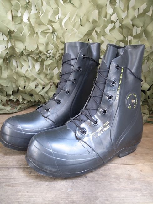 us military rubber boot
