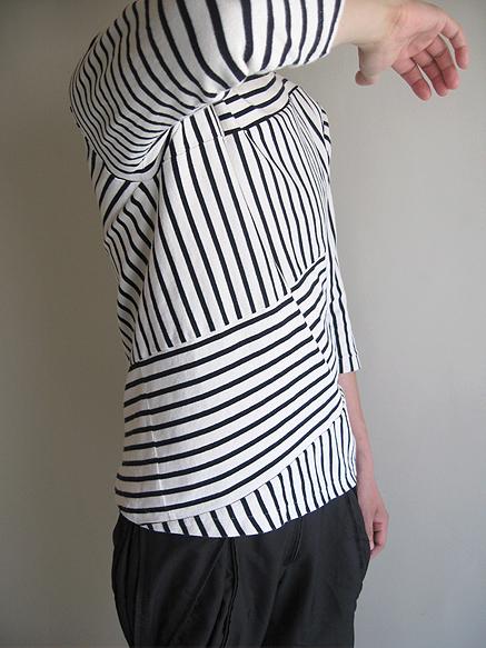 softs x ilich spiral basque shirt detail