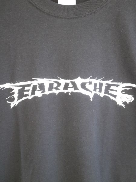 earache records logo t shirt