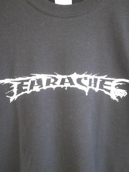 earache records logo t shirt