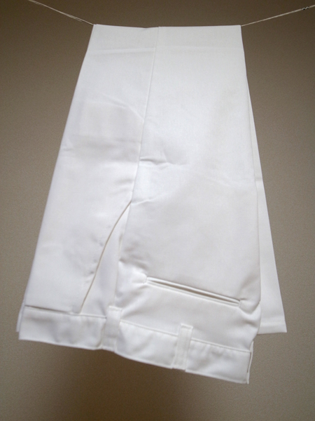 big bill white work pants