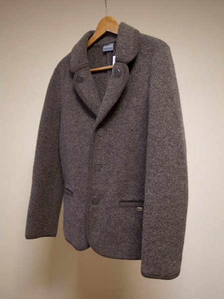geiger boiled wool jacket