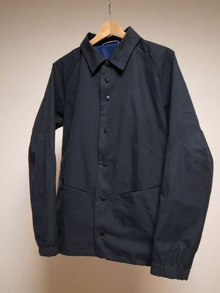 ccp x softs beyond coach jacket technical gabardine