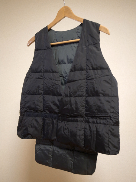 zanter x softs reversible vest blackout